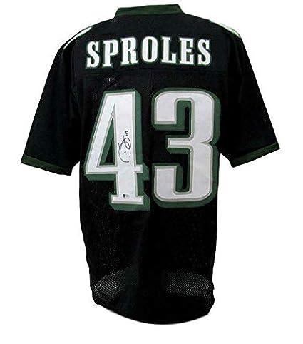 outlet store 36ad0 7b6d7 Signed Darren Sproles Jersey - Custom Beckett 143237 ...