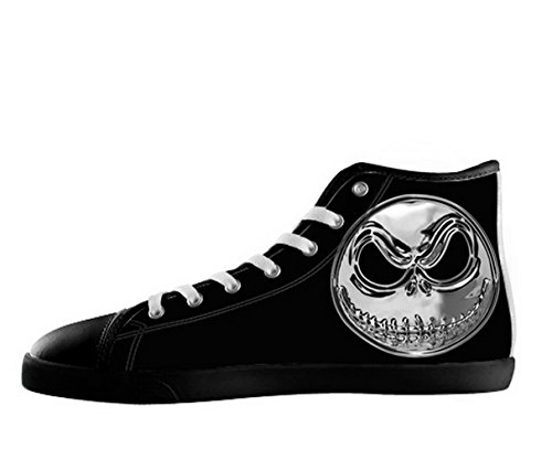 Et Førjulsmareritt Logo Menns Sklisikker Svarte Høy Topp Sko Tnbc Lerret  Shoes11 ...