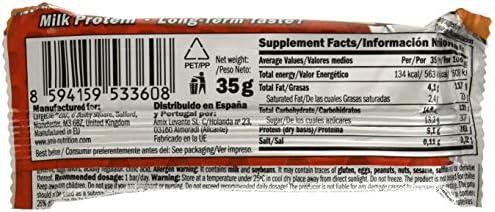 Amix Mcpro Protein Bar 24*35 Gr Cookie-Crema 840 g: Amazon.es: Salud y cuidado personal