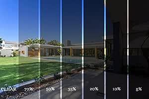 Diversity Wrap Professional K-Series Car Van Solar Window Film Tint 2Ply Anti-Scratch (6m x75cm) (Medium Smoke 35%)