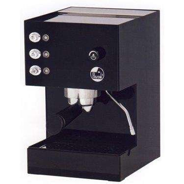 La Pavoni PFE-16 Caffe / Cappuccino / Espresso Machine in Black Steel, 39 oz. Capacity