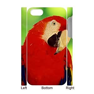 3D Bumper Plastic Case Of Parrot customized case For Iphone 4/4s