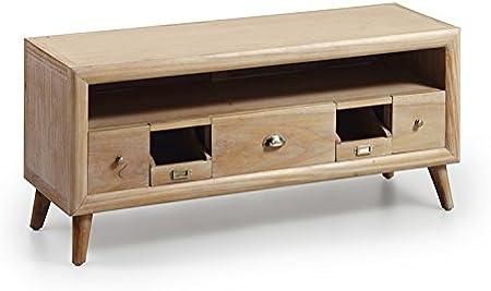 Mesas para TV de Madera : Colección BROMO de 115x51x40cms.: Amazon.es: Hogar