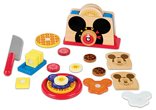 Disney Mickey Mouse Wooden Toaster