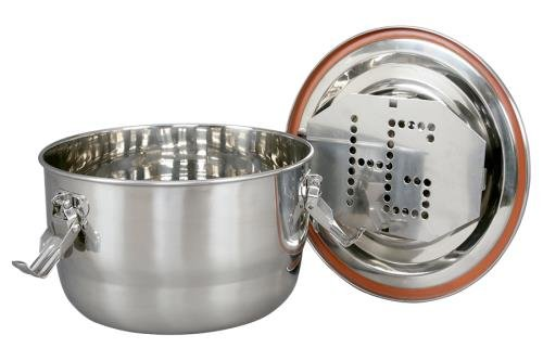 Harvest Keeper Clamp Sealing Stainless Containers - Large