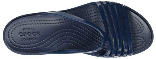 Mujer Isabellaminwdg para Navy Navy Pantuflas Blu Crocs qp0wxavq