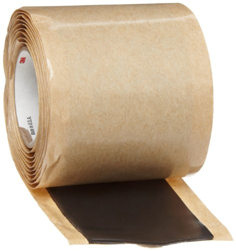 (Scotch(R) Cable Jacket Repair Tape 2234, 2 in x 6 ft, Black, 1 roll/carton)
