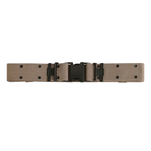Rothco New Issue Quick Rls Pistol Belt, Khaki, Medium