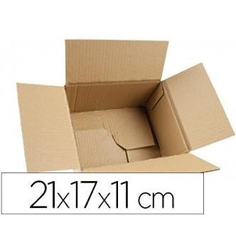 Q-Connect Caja Para Embalar Fondo Automatico Medidas 210X170X110 Mm Espesor Cartón 3 Mm: Amazon.es: Oficina y papelería
