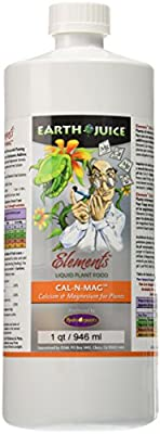 Hydro Organics HOEC35062 1-Quart Earth Juice Elements Cal-n-Mag Plant Food