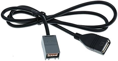 gazechimp 車のUSB入力アダプターケーブルアコードオデッセイ用電子アクセサリー