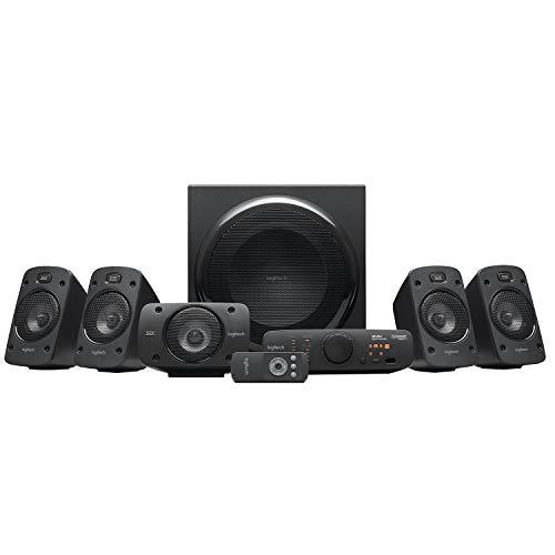 Logitech Z906 5.1 Sistema de Altavoces Sonido Envolvente THX, Certificado Dolby&DTS, 1000 W de Pico, Multi-Dispositivos…