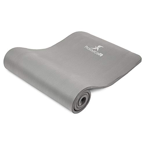 ProsourceFit Extra Thick Yoga and Pilates Mat 1/2