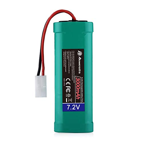 Powerextra 7.2V 3000mAh High Capacity Rechargeable 6-Cell