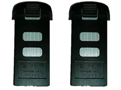 Yunn 7.4V 900 mAh バッテリー 2個 SMRC S20 GPS RC ドローン クアッドコプター用 4軸 折りたたみ 飛行機 ドローン アクセサリー B07LBNTYB5