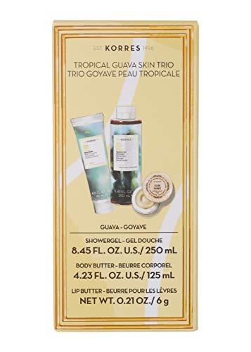 (KORRES Korres Tropical Guava Skin Trio, 12.6 Fl. Oz.)