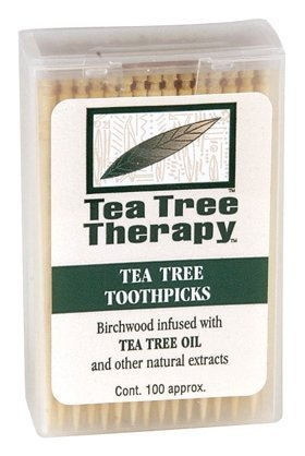Thérapie arbre à thé - Tea Tree & Menthol Cure-dents (100 count)