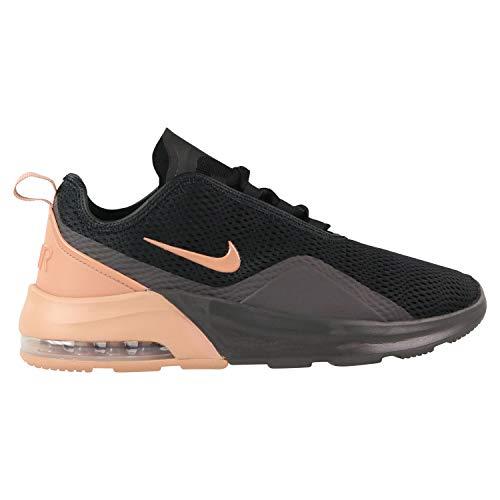 Nike Women's Air Max Motion 2 Shoe Black/Rose Gold/Thunder Grey Size 10 M US