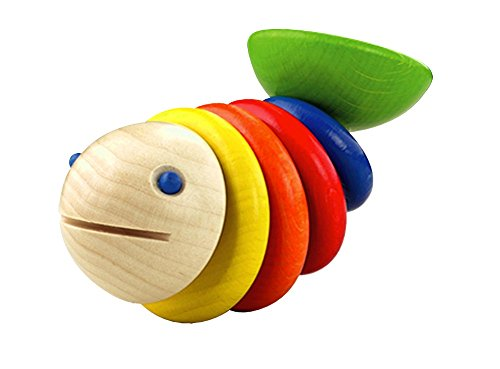 HABA Moby Wooden Rattle Germany
