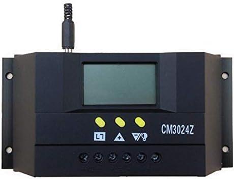 CM3024Z 30A 12V / 24V Solarladeregler, Generator Solarregler, Solarpanel Batterie Intelligenter Regler