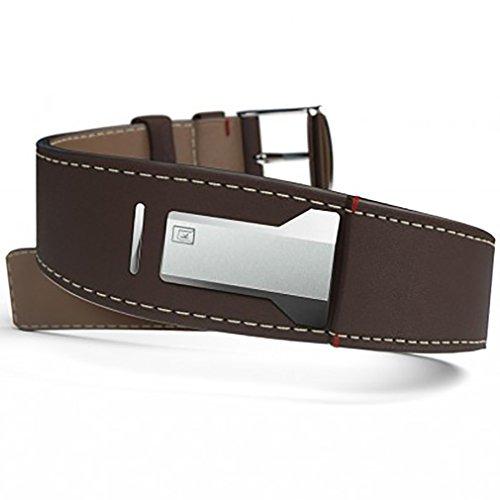 Klokers klink-01 klok-01 klok-02 watchband strap leather brown by klokers