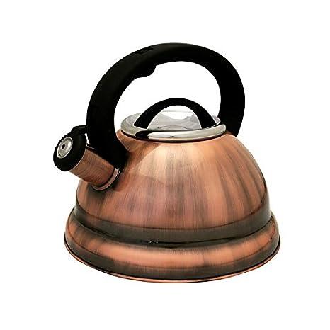 Amazon.com: clásico de cobre redonda de acero inoxidable ...