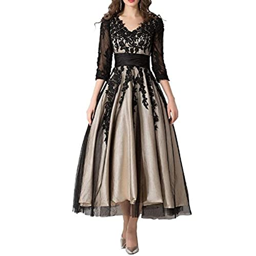 Tea Length Evening Dresses Amazon