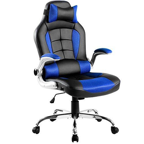 Merax King Series High-Back Ergonomic Gaming Chair Pu Leathe