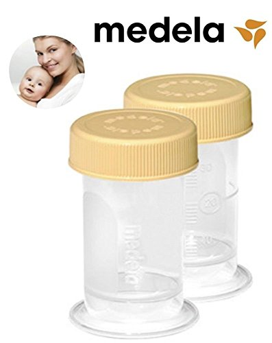 Medela Collection Container - Medela Colostrum Collection & Storage Containers, 35ml  (2 pack)