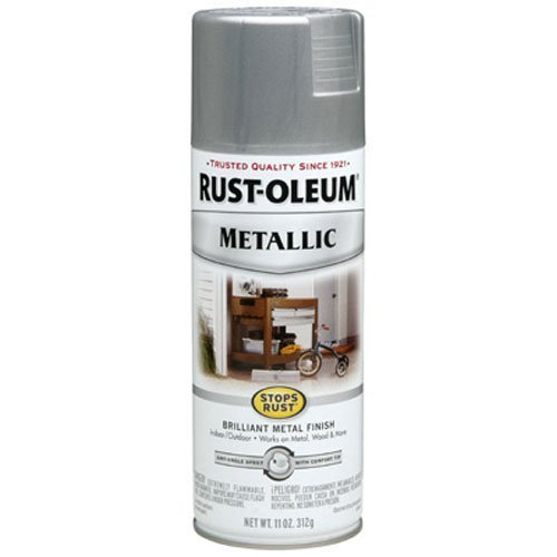 Price comparison product image Rust-Oleum 7271830 Metallic Spray,  Silver,  11-Ounce