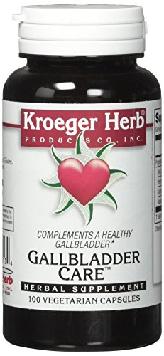 Kroeger Herb Gallbladder Care Vegetarian Capsules, 100 Count