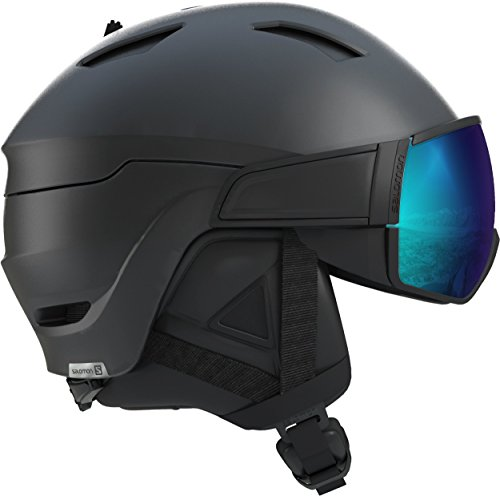 (Salomon Driver S Helmet, Medium/56-59cm, Black)