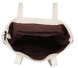 ilishop Canvas Shoulder Hand Bag Tote Bag (Winered)