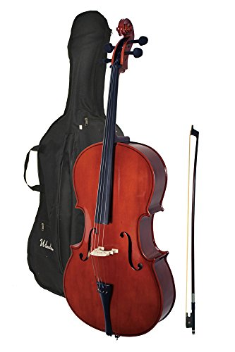 Windsor MI-3006 Windsor 4/4 Size Cello with Padded Bag by Windsor