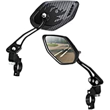 Amazon Com Bike Mirrors Handlebar