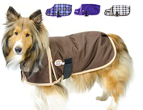 Coat Winter Horse - Derby Originals Horse-Tough 1200D Waterproof Ripstop Nylon Winter Dog Coat 150g Polyfil with Two Year Warranty
