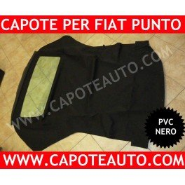 Originale Nero Punto Fiat Cabrio Capote Tela In Pvc RTqYnC7