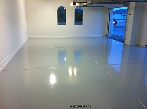 Armor Ii - Commercial Epoxy Flooring Low Voc 500 Sf Lt Gray by Armor Garage