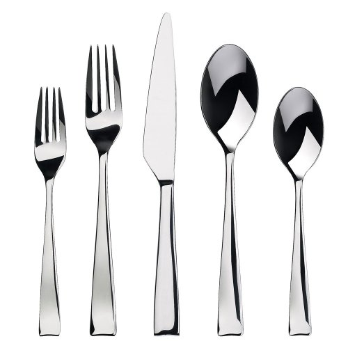 Gourmet Settings Strand 20-Piece Flatware Set image