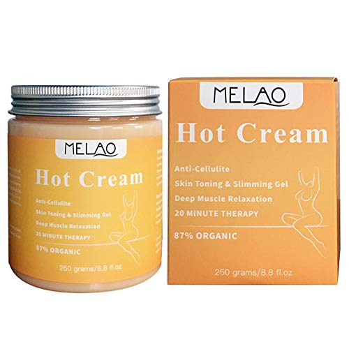 (Tulas 250g Massage Cream Hot Anti Cellulite Slimming Weight Loss Firming Body Massager Cream)