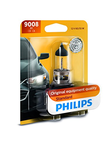 Extreme Mountaineer Bottle - Philips 9008B1 9008 / H13 Standard Halogen Replacement Headlight Bulb, 1 Pack