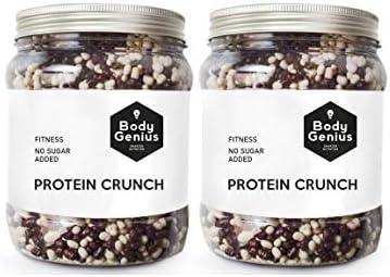 BODY GENIUS Dúo Protein Crunch (Cookies&Cream). 2x500g. Cereales ...