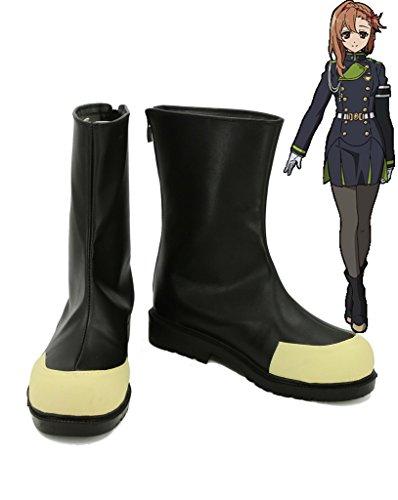 Serafijn Van Het Einde Anime Sayuri Hanayori Cosplay Schoenen Laarzen Op Maat Gemaakt