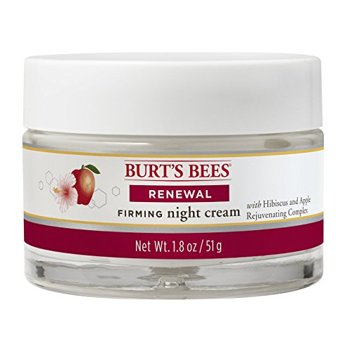 Burt's Bees Renewal Night Cream, Firming Night Cream, 1.8 Ounces