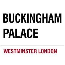 MIN90542 LONDON STREET SIGN - BUCKINGHAM PALACE METAL ADVERTISING WALL SIGNS