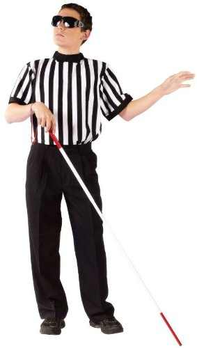 Blind Referee Costumes (Blind Referee Boy Child Costume Size Standard)