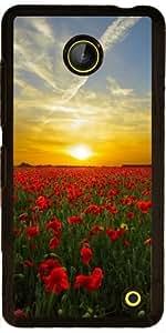 Funda para Nokia Lumia 630 - La Puesta Del Sol by WonderfulDreamPicture