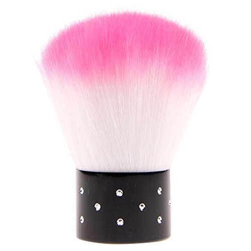 (Colorful Useful Acrylic & UV Gel Nail Brush For Nail Art Dust Cleaner)