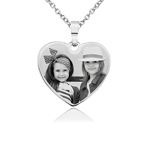 Photo Engraved Pendant - 8