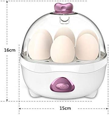 Cocina De Huevo Eléctrico-Una Sola Capa Caldera Vaporera - Protección Automática De Sobrecalentamiento- con Estante De Vapor De Plástico